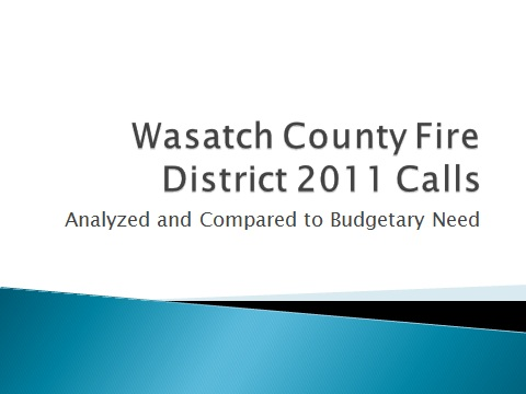WCFD Calls 2011
